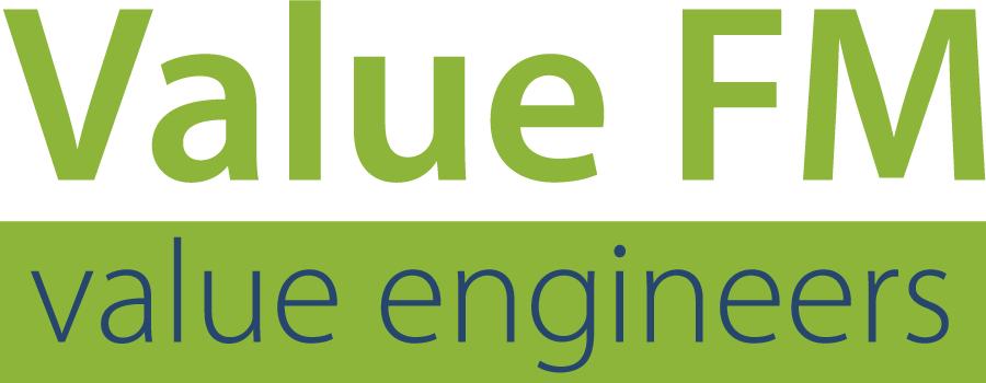 Het logo van Value FM